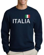 Italy Soccer Sweatshirt National Soccer Team Italia Flag World Cup 2014 Fan