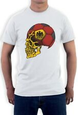 Germany Flag World Cup Skull T-Shirt Deutschland football soccer national team