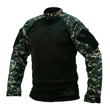 TRU SPEC 2594 1/4 Zip Winter Combat Shirt XL Urban Digital Military Camo