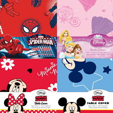 Disney Minnie,Mickey mouse,Princess,Spiderman Table Cover Cloth Tablecloth Party