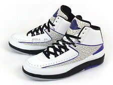 Nike Air Jordan 2 Retro AJ2 Elephant Purple White/Dark Concord-Black 385475-153