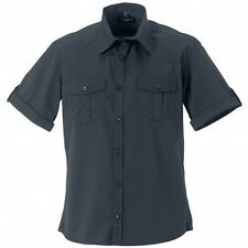(Free PnP) Russell Collection Mens Short / Roll-Sleeve Work Shirt Sizes S-4XL