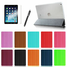 For Apple iPad Air 5 Front Leather Cover with Hard Back Case + Screen Protector