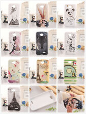 Cartoon TPU Silicone Design Skin Protective Cover Case Back For LG L70 D320 New