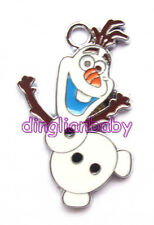 New Cartoon Princess Movie olaf  Metal Charms Jewelry Making pendants Gifts J25