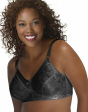 Just My Size Women's Glamorous Curvy Adjustable Satin Stretch Wirefree Bra. 1960