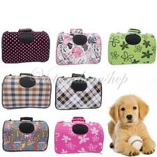 Soft Portable Puppy Dog Cat Tote Crate Carrier House Kennel Pet Cage Travel Bag