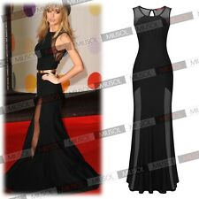 Women Sexy Fashion  Bodycon Full-length Formal Evening Party Ball Gown Dresses