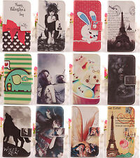 Cartoon Flip PU Leather Case Cover Protection Skin For Nokia X RM-980