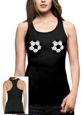 Soccer Football Bra Racerback Tank Top Sexy Top Fan shirt World Cup 2014 Boobs
