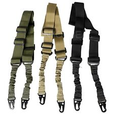 Durable Tactical 2-Point Sling Rifle Gun Strap Adjustable Air-soft Gun Rope