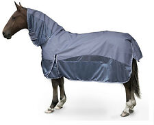 Gallop Sky Blue Horse Combo Summer Turnout Fly Rug