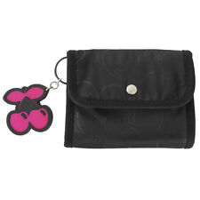 OFFICIAL Pacha Ibiza: Black Cherry Allover Trifold Wallet RRP £20.00