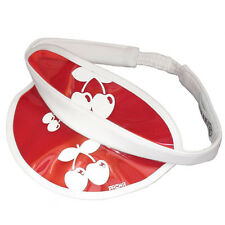OFFICIAL Pacha Ibiza: Cherries Tinted casino Visor Red or Blue RRP £20.00