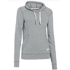 Under Armour Women's Charged Cotton Pierpoint Hoodie (Gray) 1244355-052
