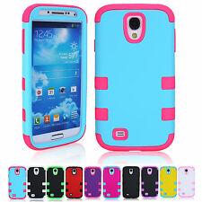 SALE 3-in-1 Soft Silicone Gel Case Phone Cover Skin For Samsung Galaxy S4 i9500