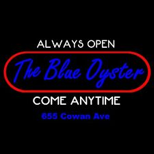 THE BLUE OYSTER BAR T-shirt -ALL SIZES  *Police Academy*