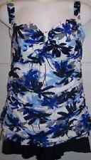 7899  MISSES SIZE 2 PC BLUE/BLACK/WHITE SWIMSUIT ASSORTED SIZES AVAILABLE