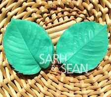 Leaf silicone mold for fimo resin polymer clay fondant cake chocolate 002
