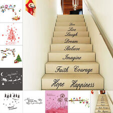 Vinyl Art Decal Home DIY Decor Wall Sticker Quote Floor Stair Words Love Sticker