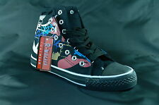 Women's Training Shoes Casual Sneakers Lace-Up Black UK Size 3.5-7, 7-065H NEW