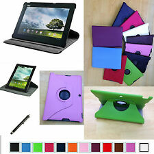 """360 Rotaty Stand PU Leaher Case+Pen for 10.1"""" ASUS MeMO Pad FHD 10 ME302C Tablet"""