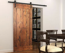 Sliding barn door sliding track hardware 6/6.6ft BL/ORB -Internation shipping