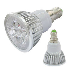 E14 3W / 4W Cool / Warm White LED High power Spot Light Lamp Bulb 85-265V DE LED