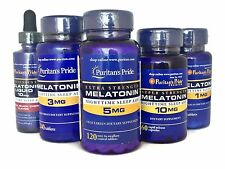 Melatonin 10mg,5mg,3mg,1mg Puritan's Pride Multi Listing Shipped From UK