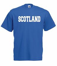 SCOTLAND sport tee football game soccer rugby gift New Mens Womens T SHIRT TOP