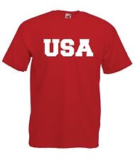 USA sport tee football game soccer baseball hockey New Mens Womens T SHIRT TOP
