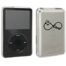 For Apple iPod Classic Hard Case Cover 80gb 120gb 160gb Infinity Love Soccer