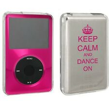 For Apple iPod Classic Hard Case Cover 80gb 120gb 160gb Keep Calm Dance On Crown