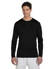 Champion Tee Shirt T Double Dry Performance Men's Long-Sleeve Solid Blank CW26