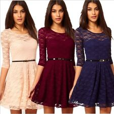 Womens Summer Dress Sexy Lace Dress Club Cocktail Dress Evening Party Dress