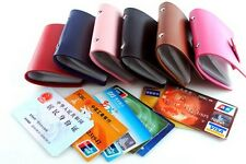 New 24 Cards Soft leather Credit ID Card Holder Wallet