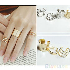 Hot 3Pcs 1Set Top Of Finger Over The Midi Tip Finger Above The Knuckle Open Ring