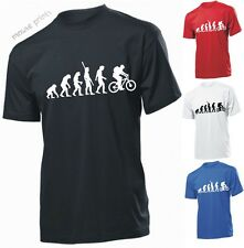 EVOLUTION OF CYCLING BIKER BIKE T SHIRT Funny T-shirt IDEAL for GIFT Present