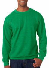 Anvil Men's Softness Rib Knit Cuff Waistband Crewneck French Terry Fleece. 72000