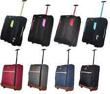 Lightweight Cabin Wheeled Hand Luggage Travel Trolley Flight Bag Suitcase Case