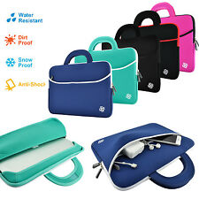 "Kozmicc Neoprene Sleeve Case Cover Pocket Bag Handle for 11"" 12"" Inch Laptops"
