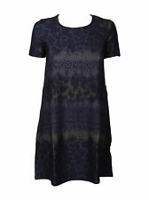 NEW EX @ REPUBLIC DENIM LEOPARD PRINT COTTON TUNIC / DRESS RRP £25 SIZES XS - L
