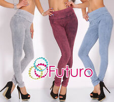☼Sexy Women's Skinny Trousers ☼ Full Lenght Stretchy Leggings With Pockets FT571