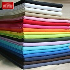 "by the yard 100% Cotton Thicken Canvas Fabric DIY Solid Color 59""  1.1 yards #2"