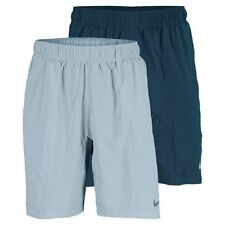 "Nike Men's 546511 Gladiator Woven 10"" Tennis Shorts Running Training Blue 411"