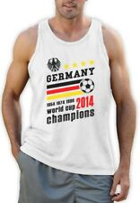 Germany World Cup Champions Singlet Soccer National Team 2014 Winners Vest Top