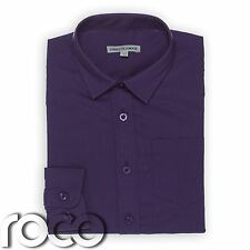 Boys Purple Shirt, Boys Formal Shirts, Boys Wedding Shirts,  Kids Shirts