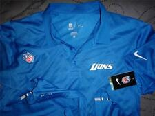 NIKE DETROIT LIONS NFL FOOTBALL ON FIELD  POLO SHIRT L M S MEN NWT $70.00