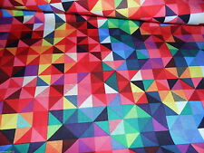 100% cotton geometric print | cushions, curtains, dressmaking | sold by metre