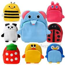 Children Kids Kindergarten Backpack Bookbag School Bag Cute Animal Shape